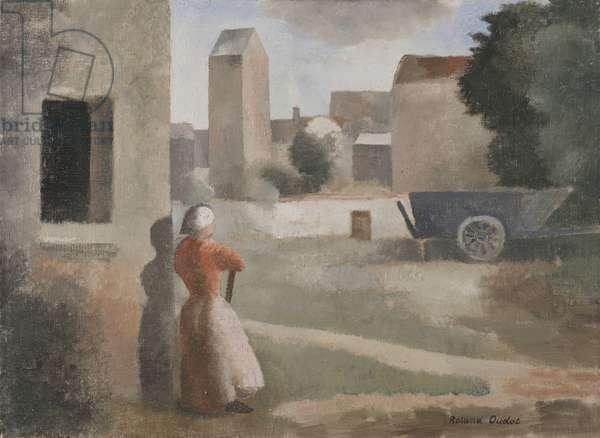 The Farm, 1924-25 (oil on canvas)