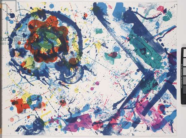 Untitled, 1987 (colour litho)