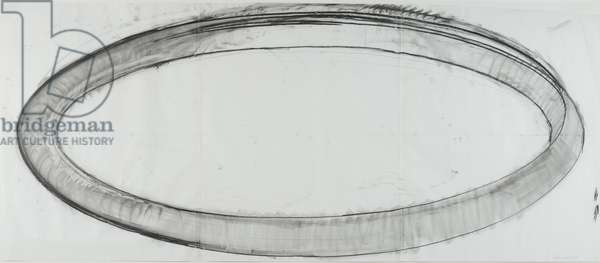 Untitled, 1977 (charcoal and pencil on paper)
