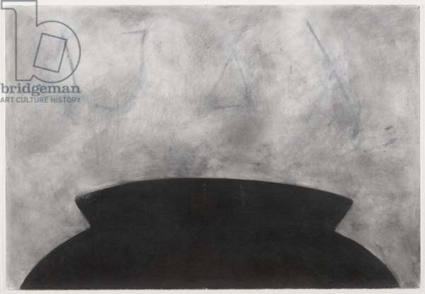 Ajax, 1985 (charcoal on paper)