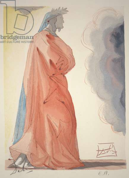 Canto 68 - Dante, c.1960 (woodcut)
