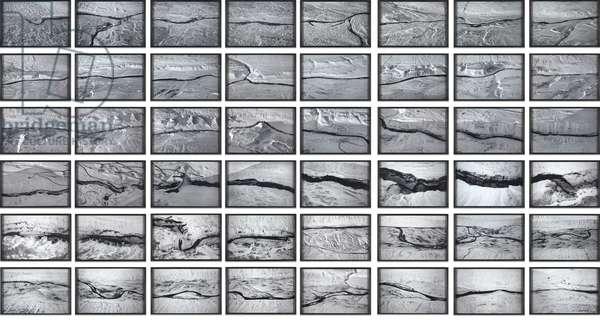 Jokla Series, 2004 (forty-eight framed color photographs)