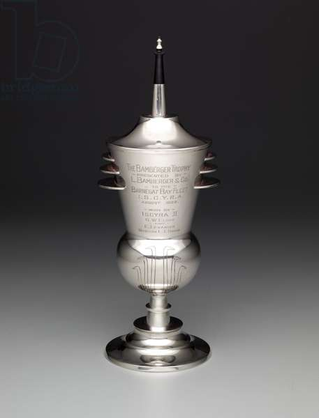 The Bamberger Trophy Cup, 1929 (sterling silver)
