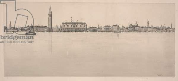 La Bella Venezia, 1930 (etching)