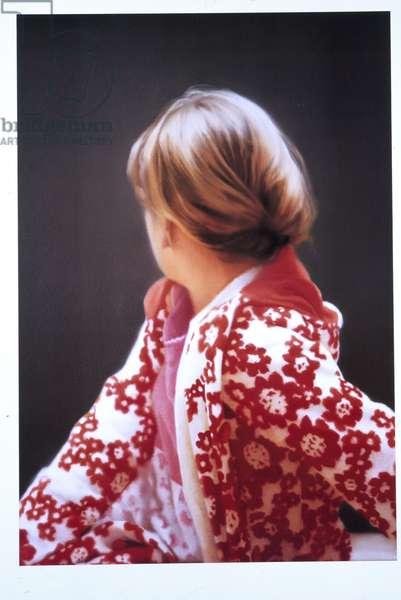 Betty, 1991 (offset colour litho, laminated, plastic panel, white card, nitro varnish)