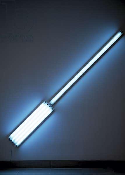 Alternate Diagonals of March 2, 1964 (fluorescent tubing)