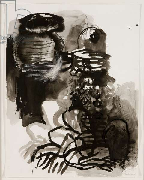 Untitled, 1988 (mixed media on paper)