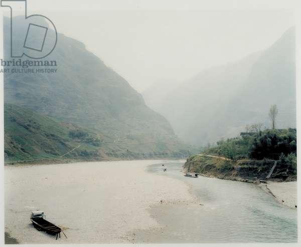 Da Ning River, Wuxi/China, 1997 (c print)
