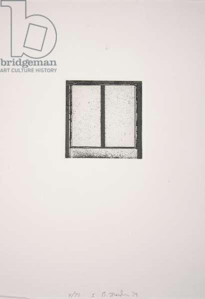 Focus I, 1979-1980 (etching, aquatint)