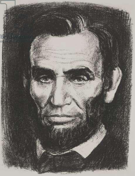 Lincoln, 1937 (litho)