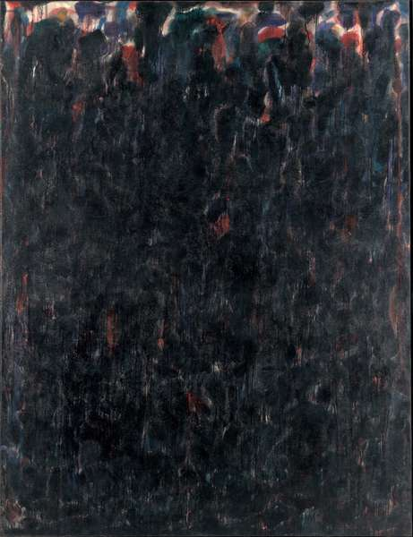 Untitled - Black Clouds, 1952 (oil on canvas)