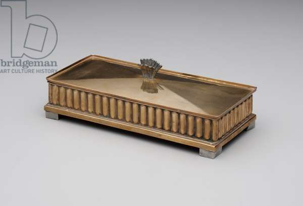 Box, c.1937 (copper and pewter)