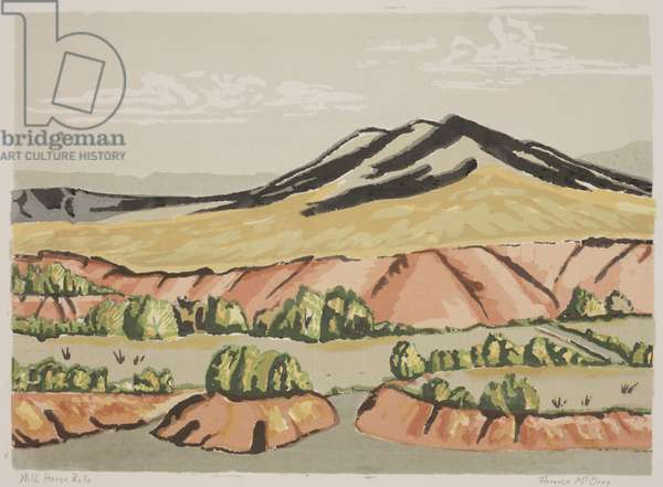 Wild Horse Peaks (silkscreen)