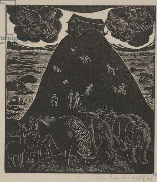 Noah's Ark, 1926 (woodcut)