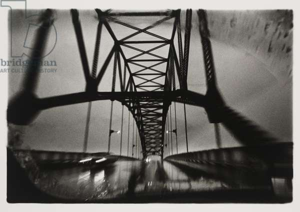 Bourne Bridge, negative 1972, print 1976 (gelatin silver print)
