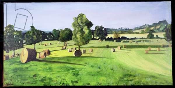 Roundballers No 1 (oil on canvas)