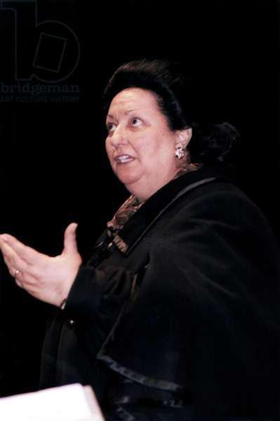 Montserrat Caballe - portrait
