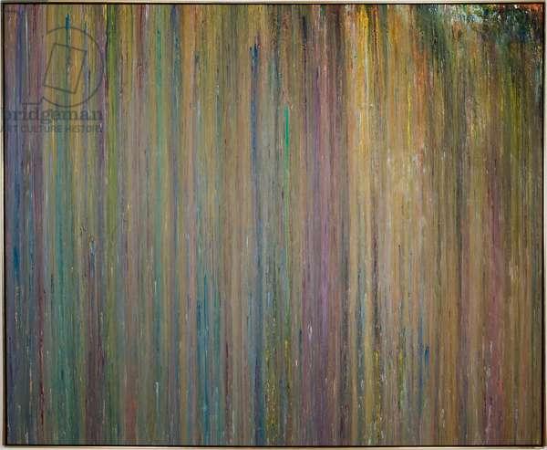 Fairbairnes, 1974 (acrylic on canvas)