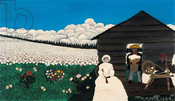 Cabin in the Cotton IV, 1944 (oil on canvas)