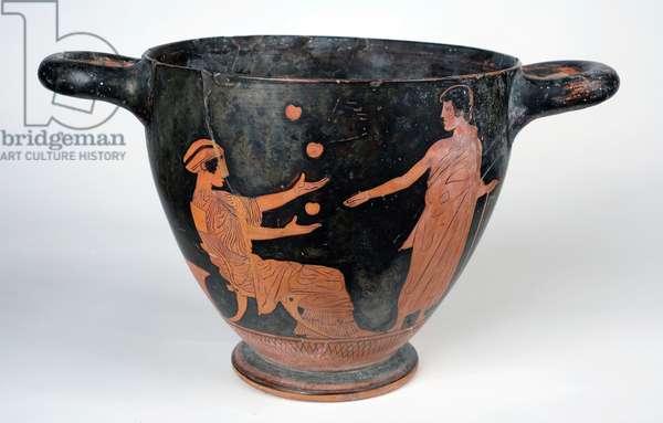 Red-Figure Skyphos, Classical period, 450-420 BC (Terracotta)