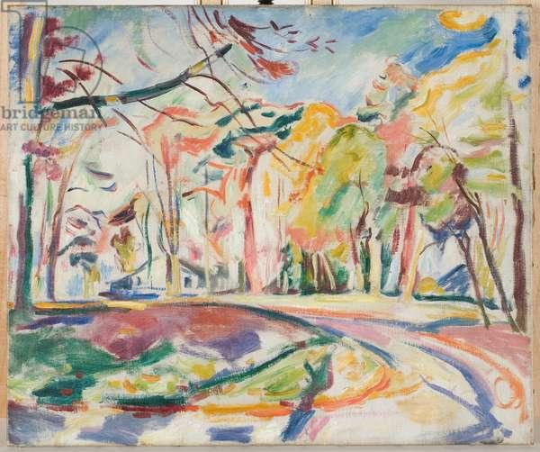 Landscape, 1907 (oil on canvas)