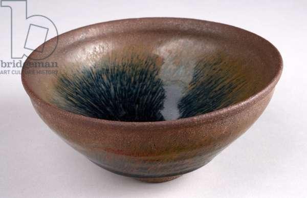 Tea Bowl, Song Dynasty (Lian ware, glazed stoneware)