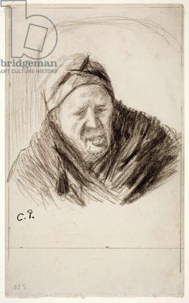 Rachelle, 1889 (chalk on paper)