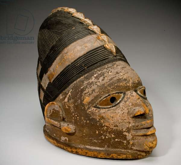 Hood Mask, 19th to mid-20th century (polychromed wood)