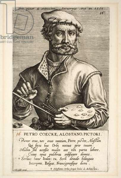 Pieter Coecke van Aelst, plate 16 from the series