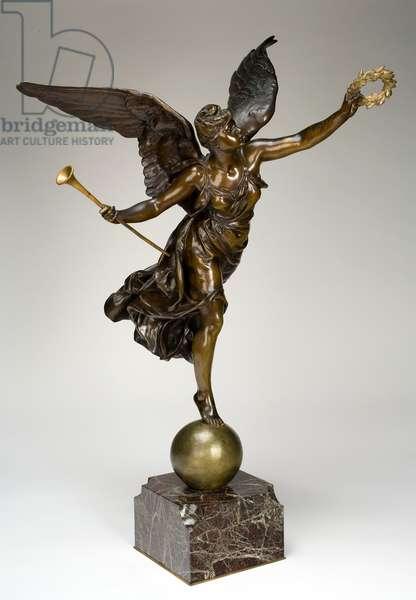 La Renomée, c.1889 (bronze with partial gilding)