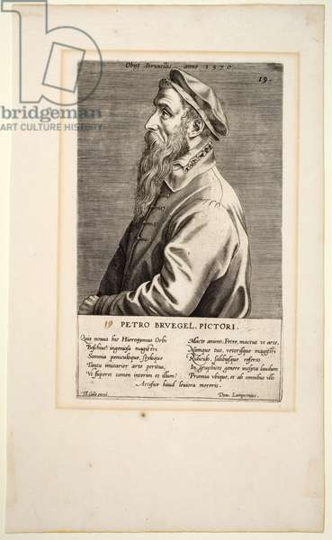 Peter Breughel, plate 19 from the series