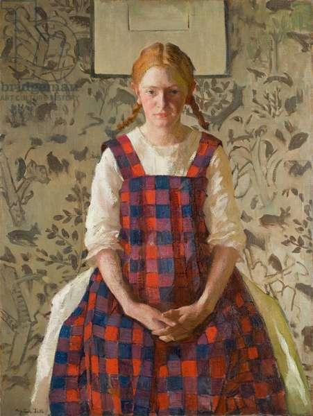 Mary, c.1920 (oil on canvas)