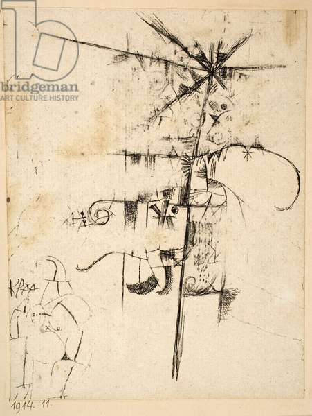 Untitled, 1914 (pen and black ink on paper)