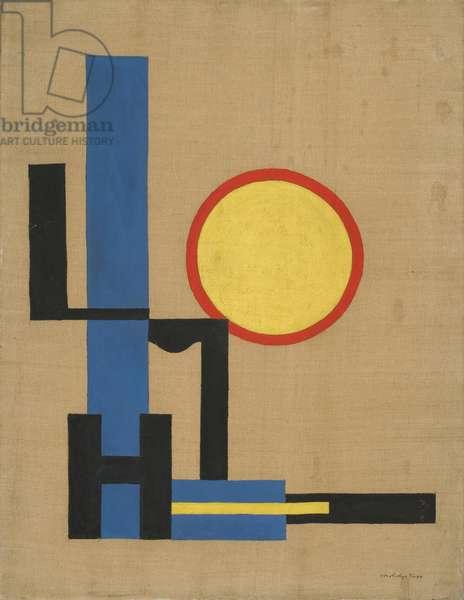 Yellow Disc, 1919-20 (oil on linen)
