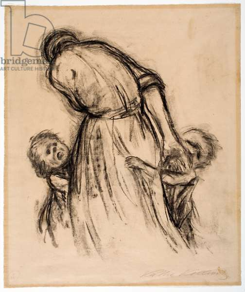 Brot! (Bread), 1924 (charcoal on paper)