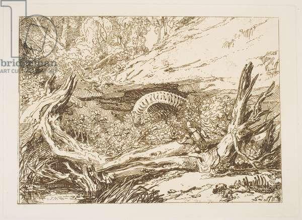 "Jason, from the series ""Liber Studiorum"", 1807 (etching before mezzotint)"