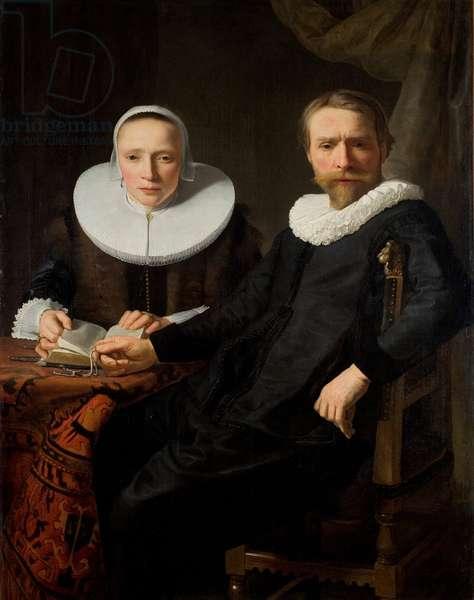 Double portrait, 1630s (oil on canvas)