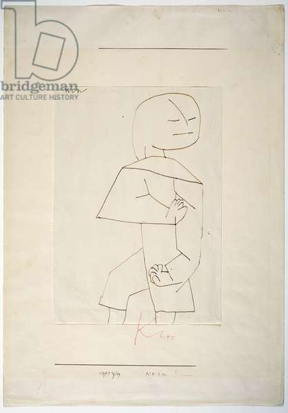 Nein!, 1940 (brown ink on paper)