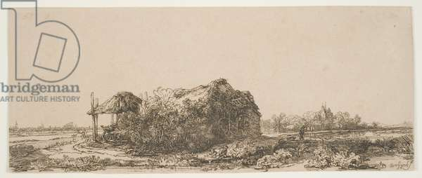Cottage in Landscape, 1641 (etching)