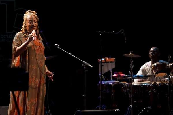 Cassandra Wilson in concert (photo)