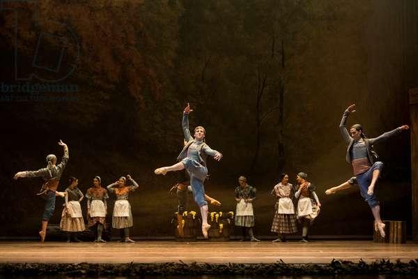 Spanish National Dance Company performs Giselle, Teatro de la Maestranza, Seville, Spain, 2021 (photo)