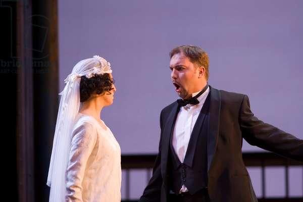 Raquel Lojendio as Zerlina and Wojtek Gierlach as Masetto (photo)