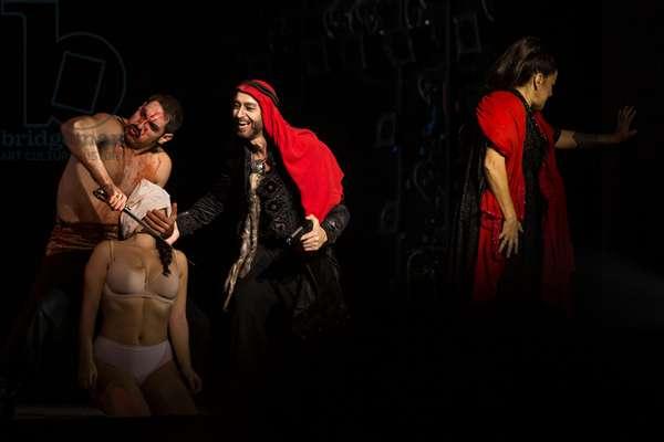 Act 3 of Samson et Dalila, at the Teatro de la Maestranza, Seville, November 2019 (photo)