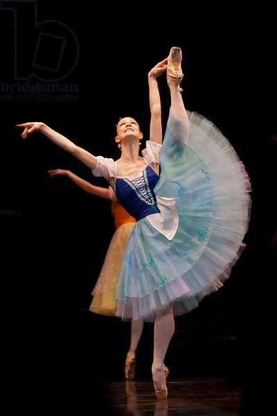Elza Leimane-Martirova as Giselle (photo)