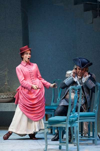 Elena de la Merced as Isotta (photo)