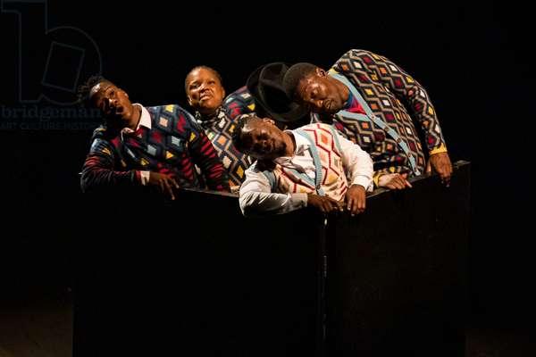 Gregory Maqoma performing Broken Chord, 2021 (photo)
