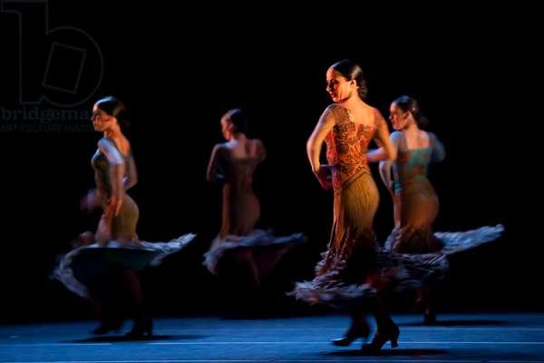 Dancers of María Pagés Company (photo)