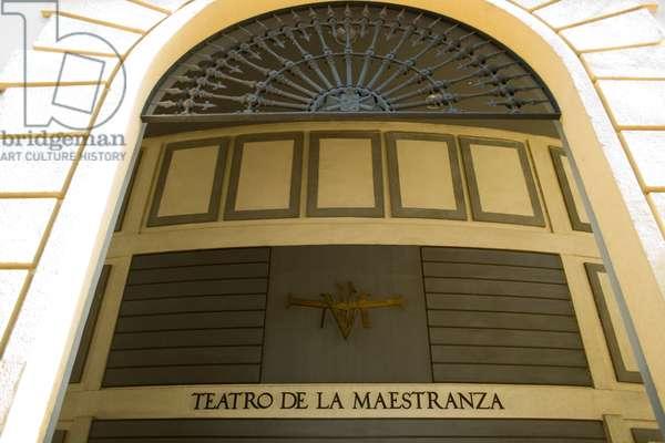 Facade of the Maestranza Theatre, Seville, Spain (photo)