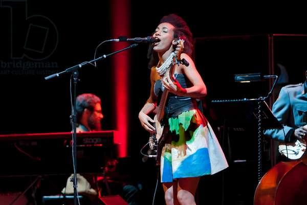 Esperanza Spalding in concert (photo)