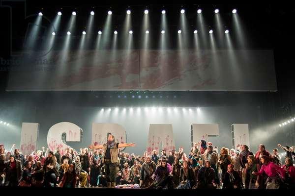 Act 1 of Samson et Dalila, at the Teatro de la Maestranza, Seville, November 2019 (photo)